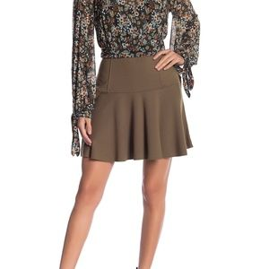 NWT Free People Highlands Mini Skirt Size L